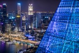 Fresh Perspective of Downtown Singapore and Marina Bay Core