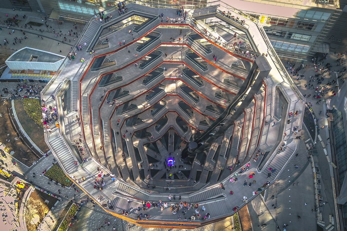 The Vessel, Hudson Yards, New York.