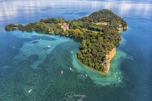 Island Bisentina – Lake of Bolsena – Capodimonte VT – Italy