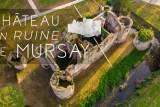 Balade en drone au Château de Mursay
