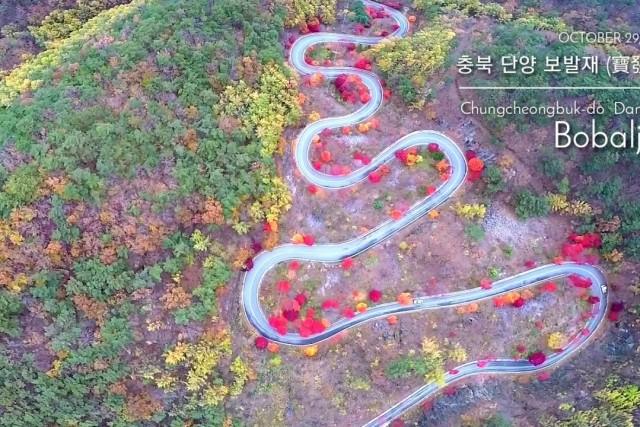 Bobaljae in Danyang, Korea ( 3DR Solo ) '18.10.29 Mon