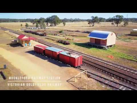 Muckleford Railway Station | Victorian Goldfields Railway
