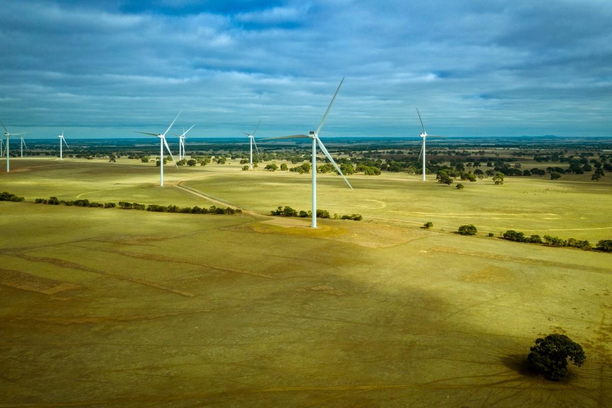 Wind Farm Photo – Salt Creek Wind Farm