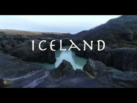 Beautiful Icelandic Scenery by Drone