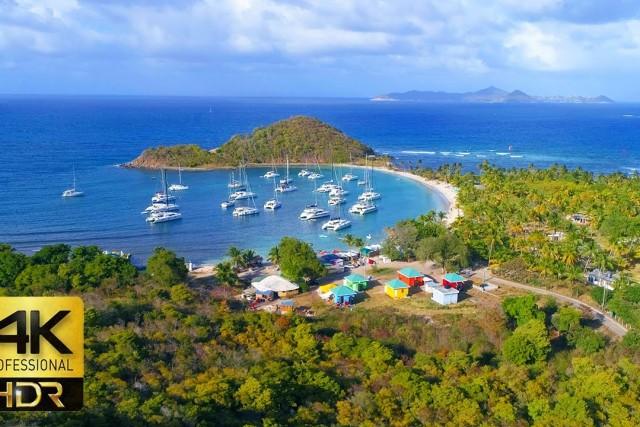 The Caribbean Paradise – 4K Drone