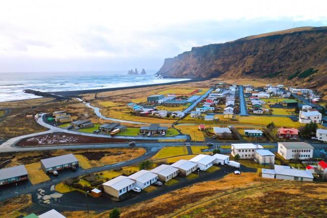 Petit village de Vik