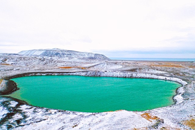 Lac de Hafnarfjördur