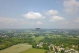 Mavic Air in the air