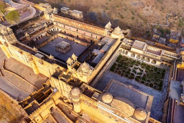 Amer Fort(Top view)