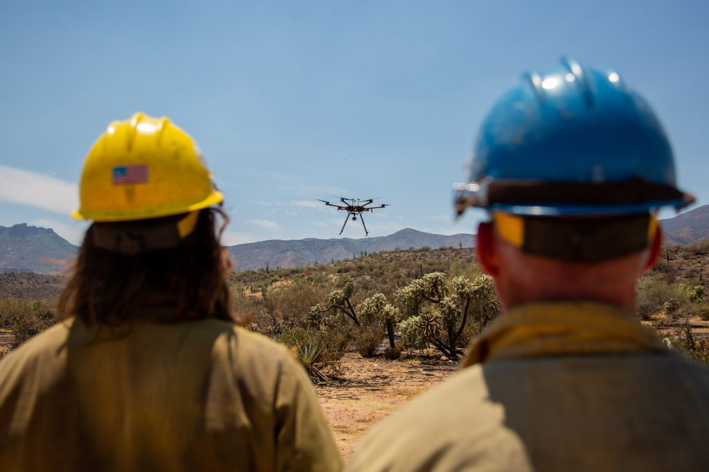 'Like The Chain Saw': Drones Have Become a Lifesaving Tool for Fighting Wildfires – Signals AZ