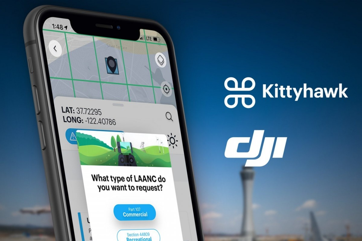 DJI recommends free Kittyhawk LAANC service for recreational pilots – DroneDJ