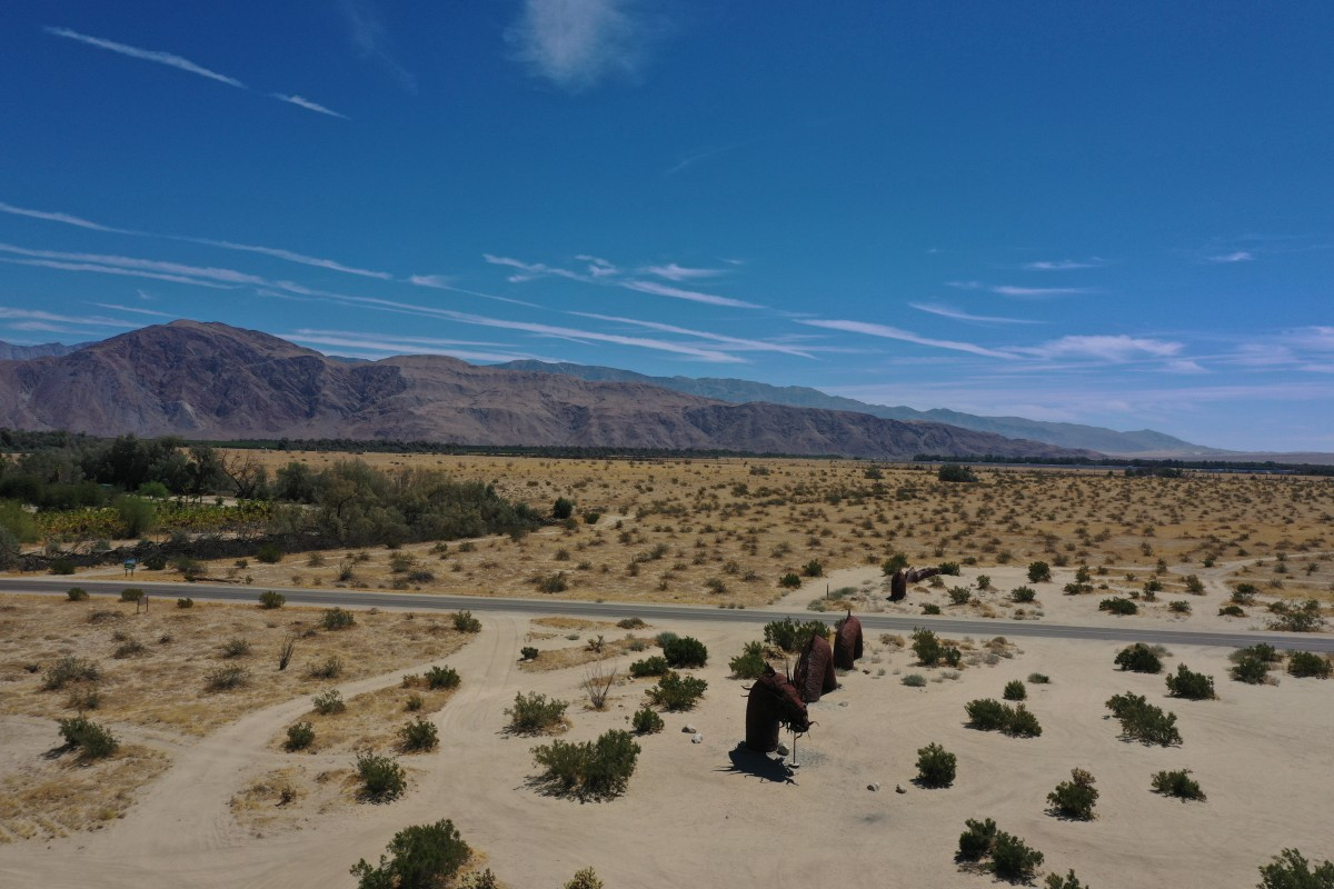 Borrego Springs, July 2019