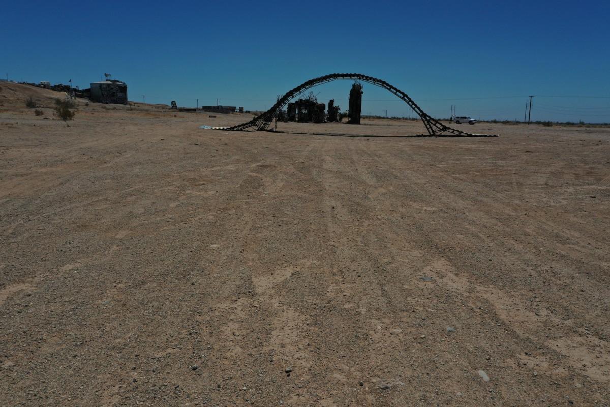 California desert in July