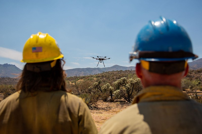 'Like the chain saw': Drones have become a lifesaving tool for fighting wildfires – Prescott Daily Courier
