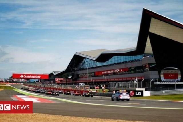 British Grand Prix: Drones flown near Silverstone – BBC News