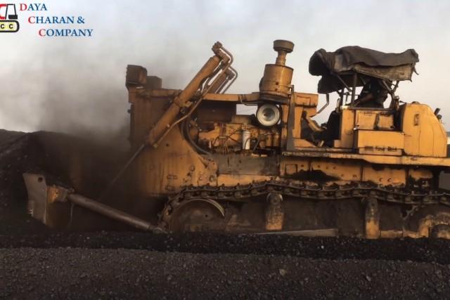 BD155 bulldozer working for Coal feeding – Power Plant