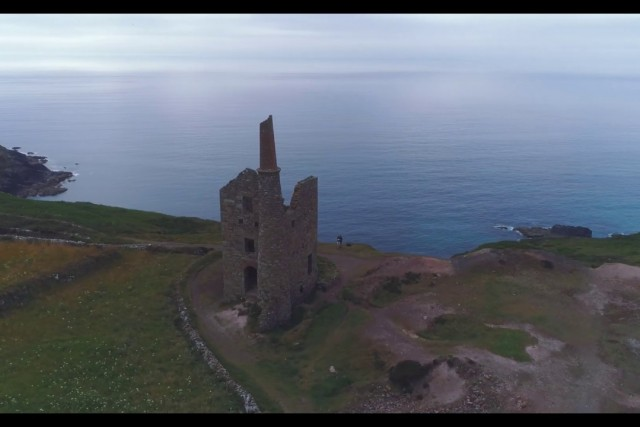 Cornwall: Lands End and Botallack Mine Drone Footage