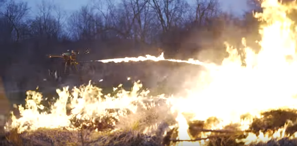 You can now buy a flying flamethrower drone – The Post Millennial