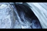 GLACIER DE MOIRY ,wounds in the dying glacier