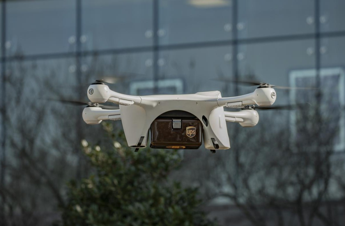 UPS is launching a drone delivery service in the US – Quartz