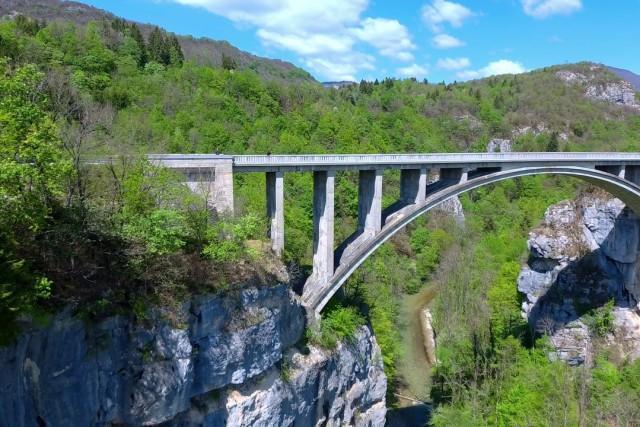 The stones Bridge : le pont des Pierres