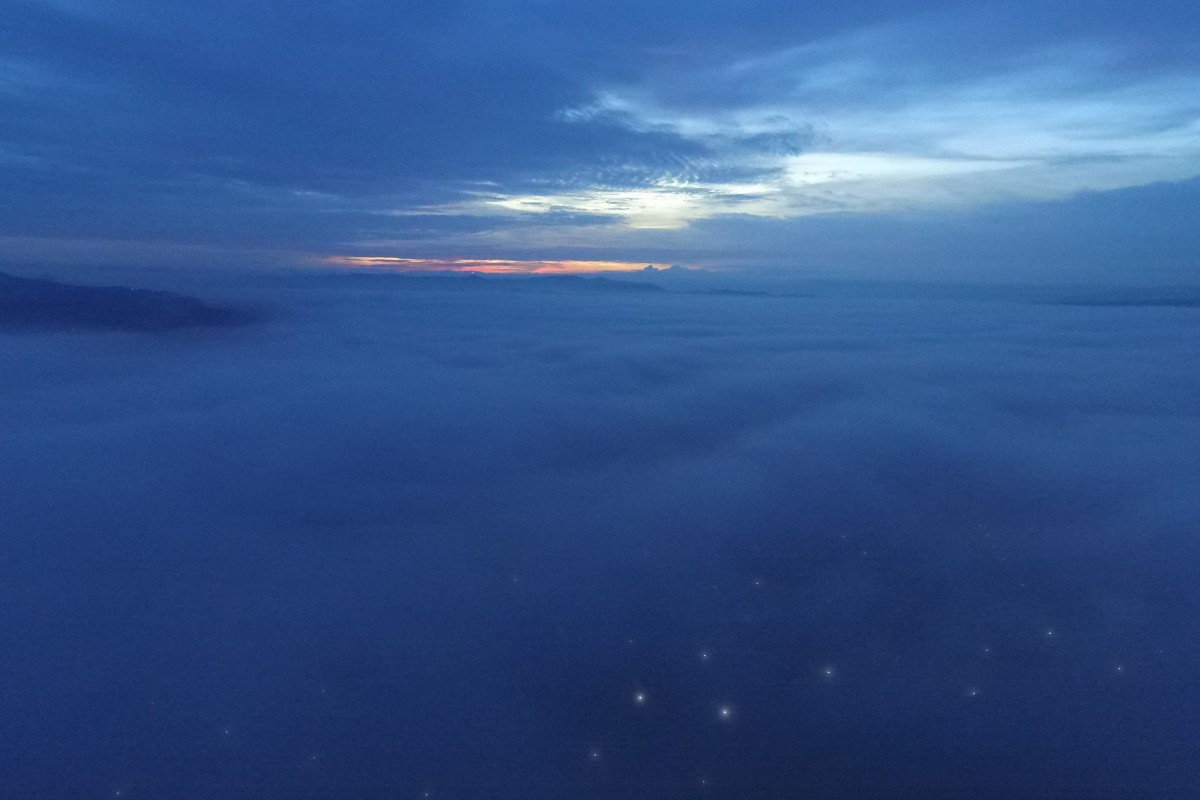 Remember it, neblina sobre chalchuapa al amanecer, Santa Ana, el Salvador..