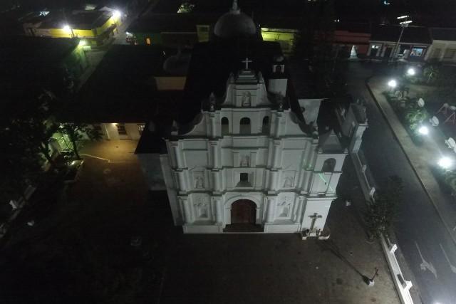 Iglesia santiago apostol, chalchuapa, santa ana, el salvador.