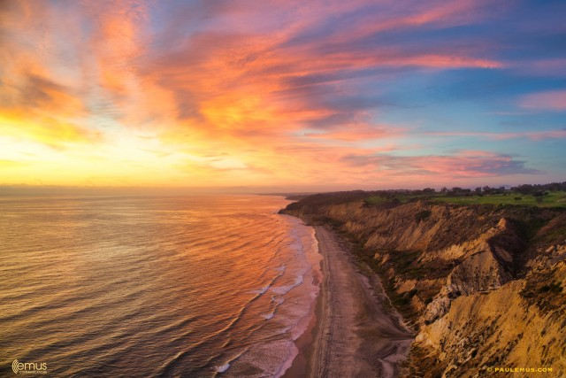 Sundown at Torrey Pines