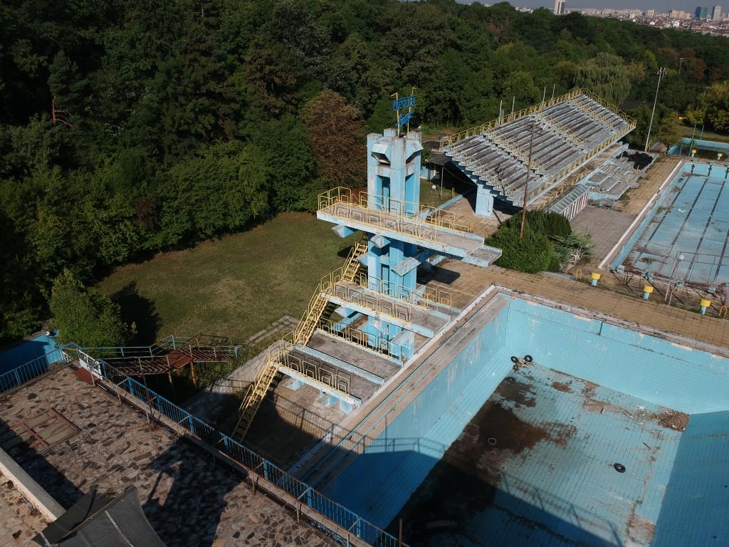 Abandoned Water Pool Maria Luisa Dronestagram