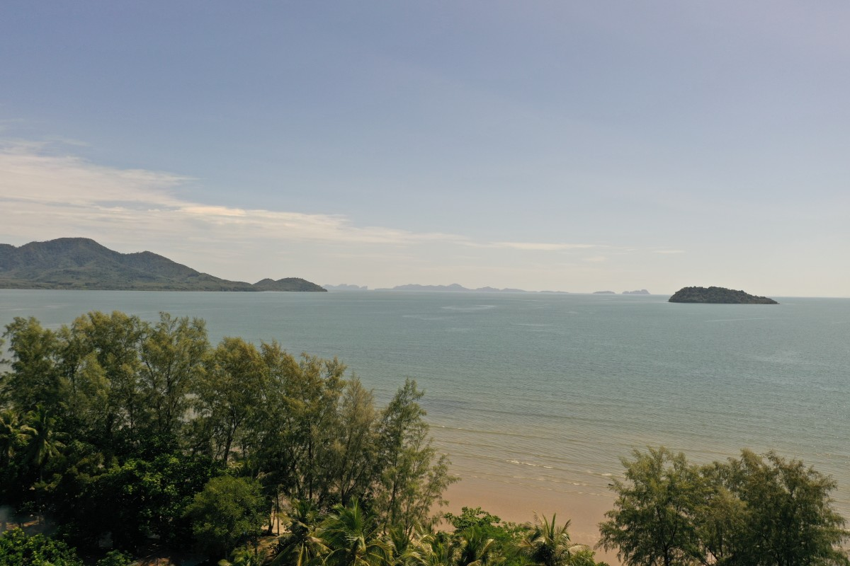 Koh Sriboya Island by drone.
