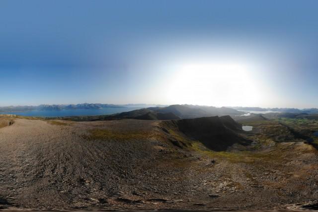 Bøblåheia (610 moh.) in Vesterålen, Norway.