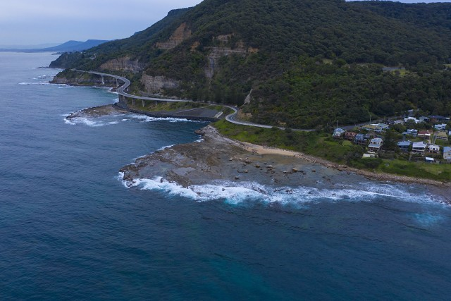 Sea Cliff Bridge, NSW Australia