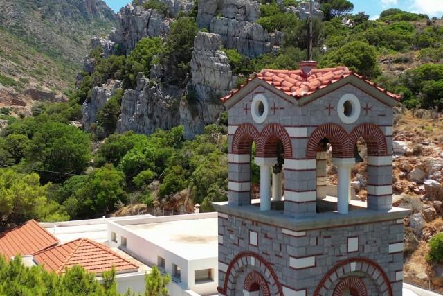 Aerial video above Crete 4K. Part 2