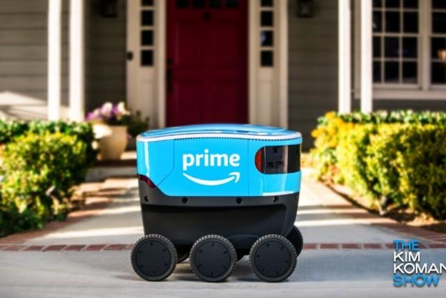 Amazon launches land-based delivery drones in California – Komando