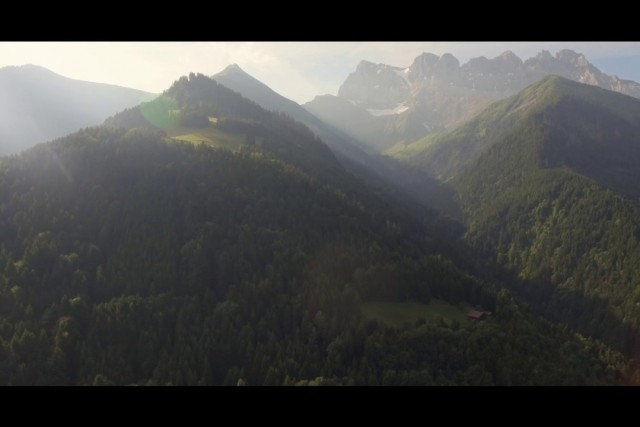 Cinematic Film : val d\'illiez, Valais, Switzerland.