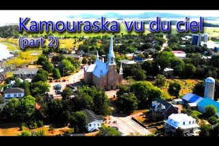 Kamouraska, Quebec, CANADA from the sky (part 2)