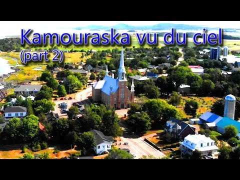 Kamouraska, Quebec, CANADA from the sky (part 2)