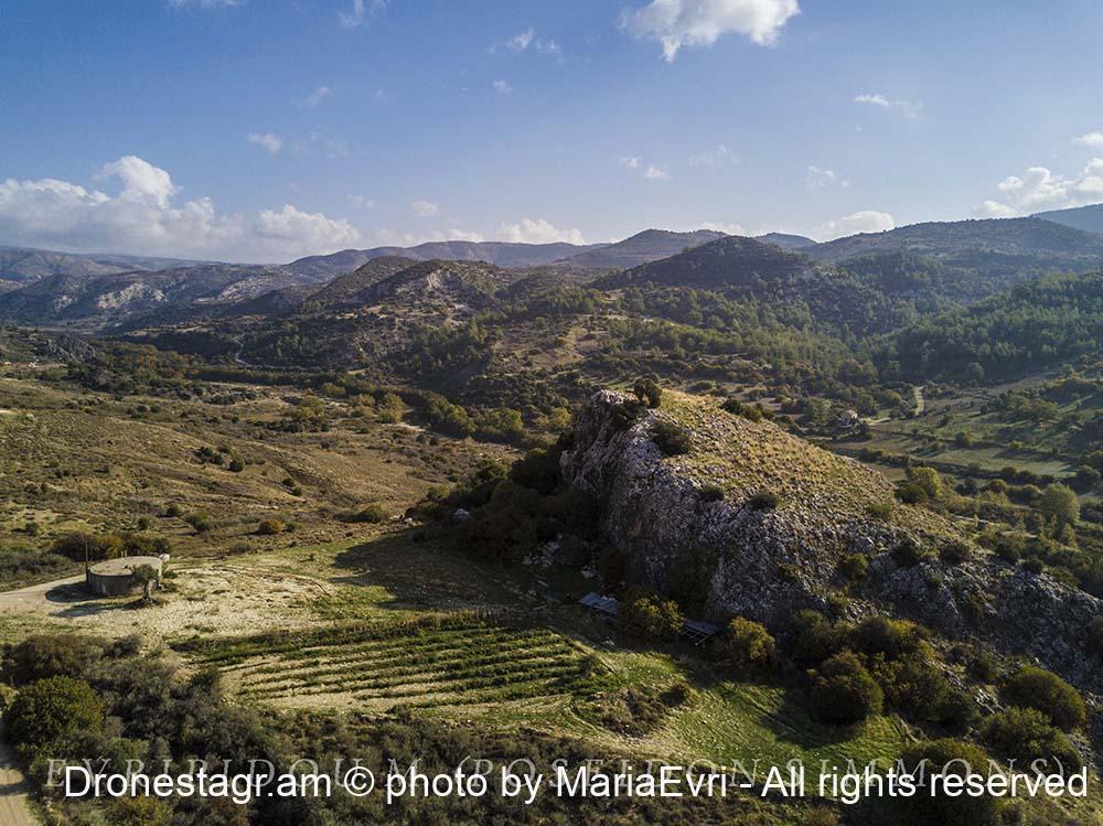 Mamonia large rock landscape