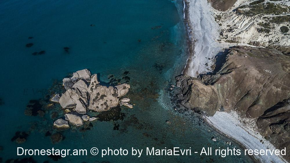 Pafos lava rocks