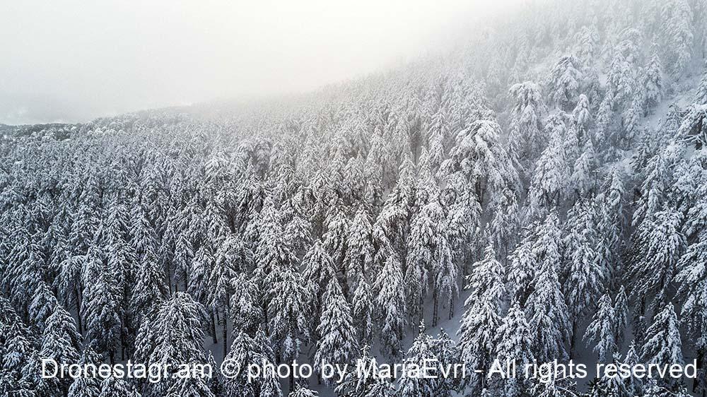 Troodos snow