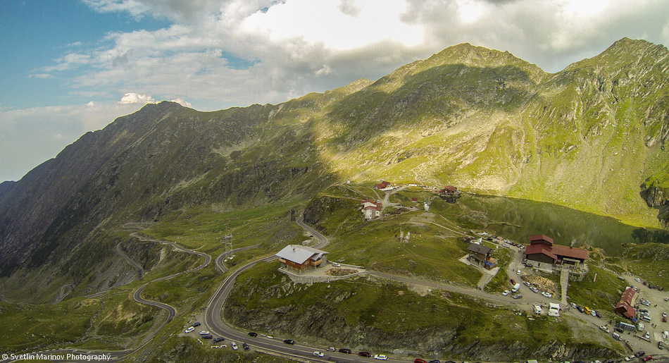 Transfagarashan mountain pass, Romania