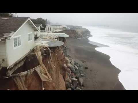 Pacifica Coastal Erosion 10-29-17