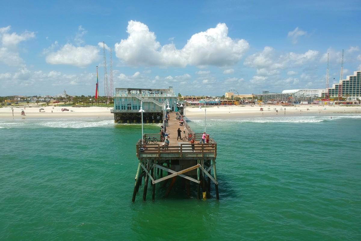 Pier Of Daytona Beach Dronestagram
