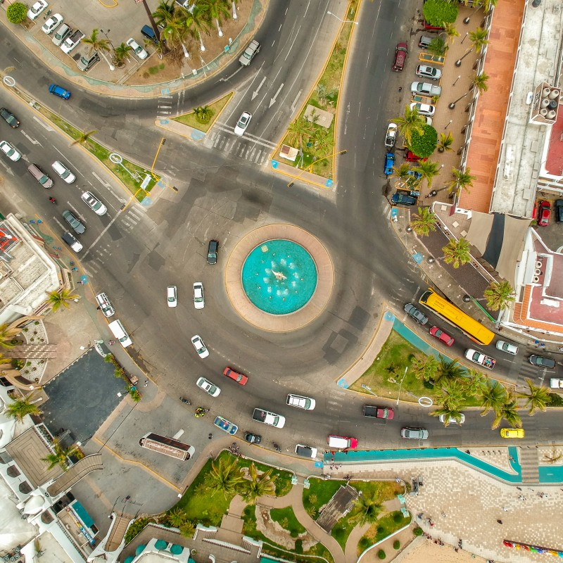 The streets of Mazatlan