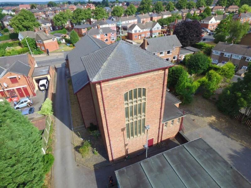 Church Gutter Clearing