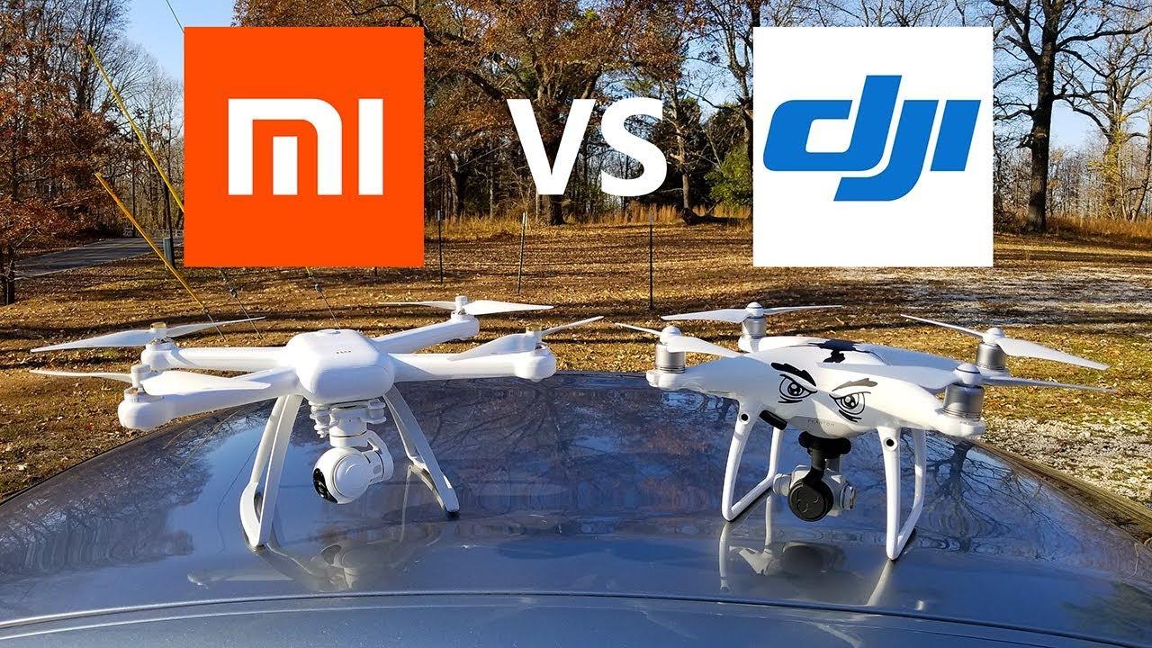 XIAOMI MI Drone vs DJI Phantom 4 Pro - KEN HERON