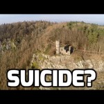 First Suicide caught on video with a DJI Phantom Drone?