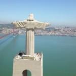 LISBOA - LISBON - LISSABON - PORTUGAL - AERIAL VIEW - DRONE VIDEO - 4K