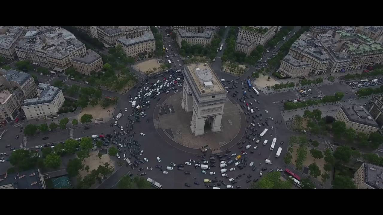 Paris, France Drone Footage 2016