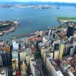 DJI: Rio de Janeiro - OldTown - Brasil - Drone Video - Daytime